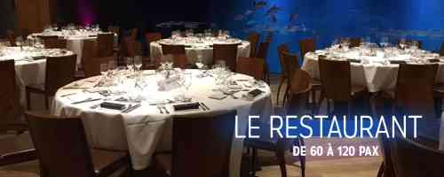 Le restaurant- L'Aquarium de Paris