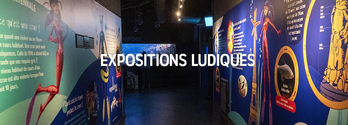 Expostions ludiques - Aquarium de Paris