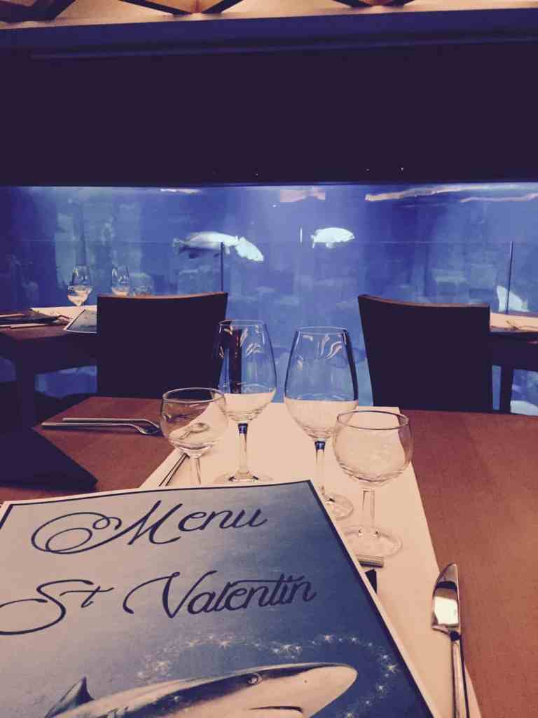 Saint Valentin à l'Aquarium de Paris