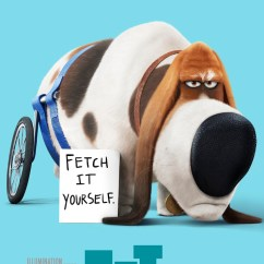 Wheelchair Dog Hanging Chair Hammock Neuf Posters Des Personnages De Comme Bêtes | Cinechronicle