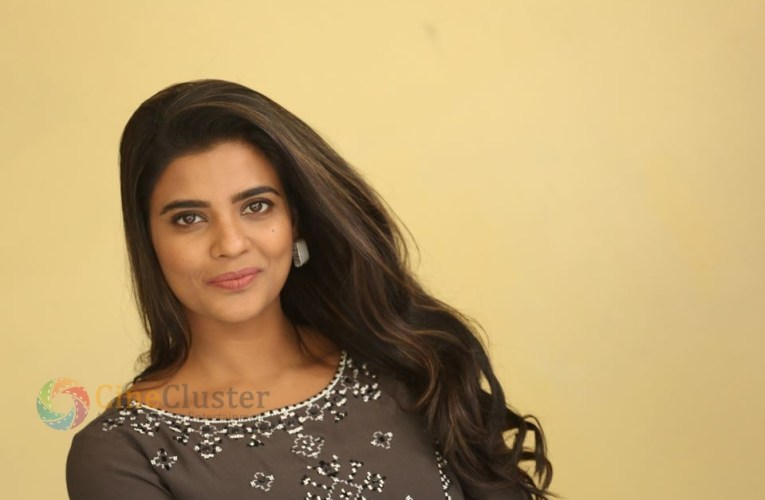 Actress Aishwarya Rajesh From World Famous Lover Promotions