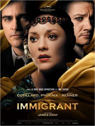 En 1921, Ewa et sa sœur Magda quittent leur Pologne natale pour la terre promise, New York. Arrivées à Ellis Island, Magda, atteinte de tuberculose, est placée en quarantaine.  Ewa, seule et désemparée, tombe dans les filets de Bruno, un souteneur sans scrupules.  Pour sauver sa sœur, elle est prête à tous les sacrifices et se livre, résignée, à la prostitution. L'arrivée d'Orlando, illusionniste et cousin de Bruno, lui redonne confiance et l'espoir de jours meilleurs.  Mais c'est sans compter sur la jalousie de Bruno…  Film américain de James Gray, sorti en France le 28 novembre 2013, avec Marion Cotillard, Joaquin Phoenix, Jeremy Renner et Dagmara Dominczyk.  LIRE LA CRITIQUE