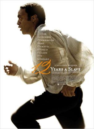 Quelques années avant la guerre de Sécession des Etats-Unis, Solomon Northup, jeune homme noir originaire de l'État de New York, est enlevé et vendu comme esclave.  Face à la cruauté d'un propriétaire de plantation de coton, Solomon se bat pour rester en vie et garder sa dignité.  Douze ans plus tard, il va croiser un abolitionniste canadien et cette rencontre va changer sa vie…  Film  américain de Steve McQueen, sorti en France le 22 janvier 2014, avec Chiwetel Ejiofor, Michael Fassbender, Benedict Cumberbatch, Paul Dano et Lupita Nyong'o.  LIRE LA CRITIQUE