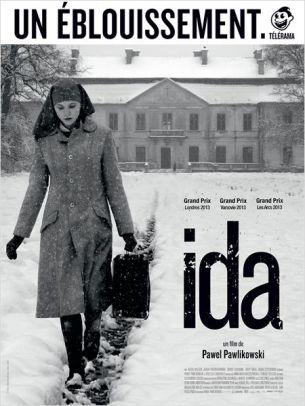 En Pologne, dans les années 1960, Anna, jeune orpheline élevée au couvent, rend visite à sa tante Wanda. Cette dernière lui révèle l'histoire de sa famille, dont les membres ont tous été tués dans les camps de la mort.  Car Ida est en fait juive. D'ailleurs Wanda ne comprend pas la volonté de sa nièce de devenir nonne. Ensemble, elles prennent la route pour revoir la maison où est née la jeune femme.  Film polonais de Pawel Pawlikowski, sorti en France le 12 février 2014, avec Agata Trzebuchowska, Agata Kulesza et Dawid Ogrodnik.  LIRE LA CRITIQUE