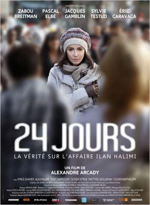 Le vendredi 20 janvier 2006, Ilan Halimi, choisi par le gang des Barbares parce qu'il était juif, est enlevé à Paris et conduit dans un  appartement de Bagneux.  Il y sera séquestré et torturé pendant trois semaines avant d'être jeté dans un bois par ses bourreaux.  Retrouvé gisant nu le long d'une voie de chemin de fer à Sainte-Geneviève-des-Bois, il ne survivra pas à son calvaire.  Film français de Alexandre Arcady, sorti en France le 30 avril 2014, avec Zabou Reitman, Jacques Gamblin, Pascal Elbé, Sylvie Testud et Eric Caravaca.  LIRE LA CRITIQUE