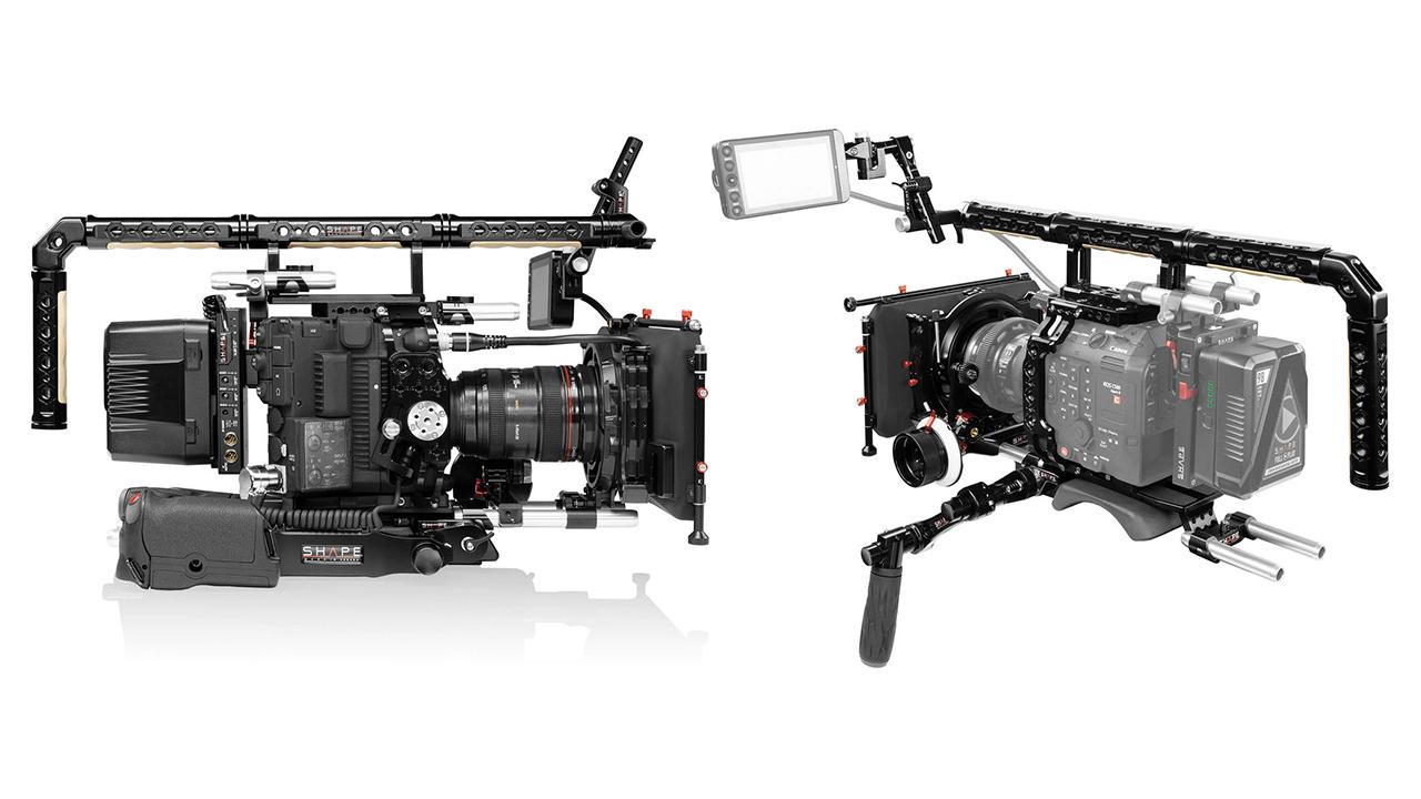 Solución de plataforma SHAPE para la Canon C500 Mark II