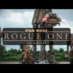 El trailer de ROGUE ONE: UNA HISTORIA DE STAR WARS recreado en Lego es una maravilla