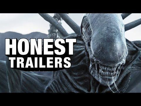 Un rato de risas con el Honest Trailer de ALIEN: COVENANT