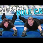Tom Cruise interpreta gran parte de sus papeles junto a James Corden