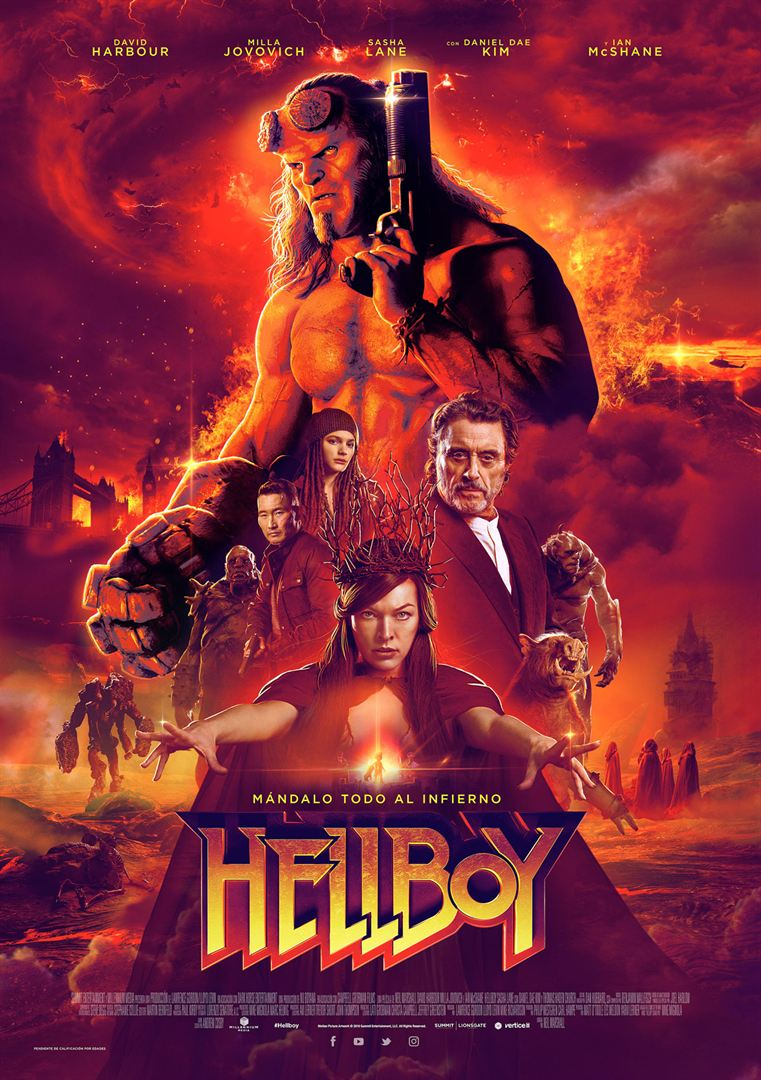 "Civil War: ""Hellboy"" de Neil Marshall"