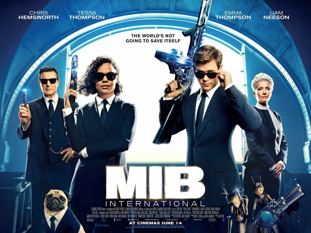 Men in Black: International de F. Gary Grey con Tessa Thompson - Cine en Serio