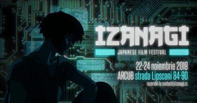 Festival de animație japoneză IZANAGI 22-24 noiembrie 2019