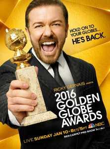 Golden Globes 2016 poster
