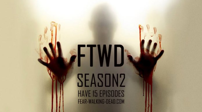 Fear The Walking Dead 2 stagione