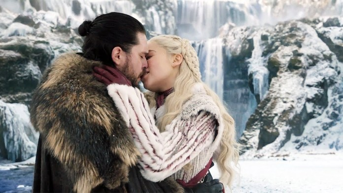 jon snow e daenerys