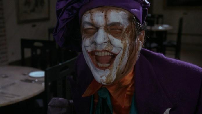 Il Joker del Batman di Tim Burton