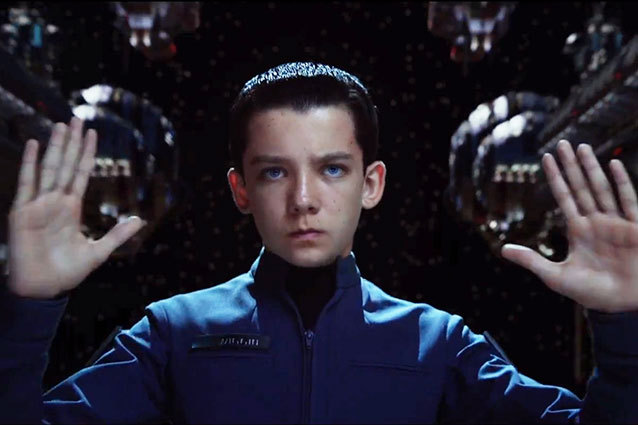 ender's game asa butterfield