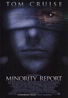 Minority Report  recensione poster