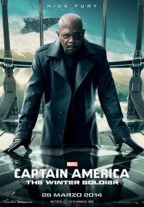 Captain America The Winter Soldier character poster  Fury