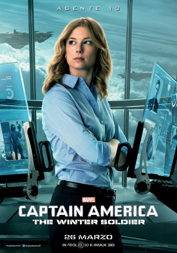 Captain America The Winter Soldier Agente 13