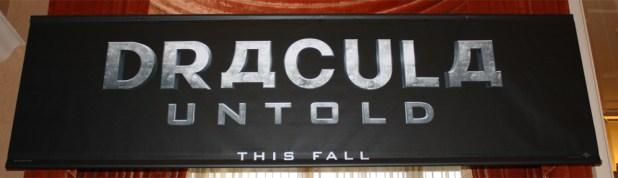 Dracula Untold banner logo