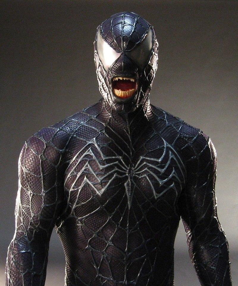 Spiderman 3: costume test per il Venom di Sam Raimi ...