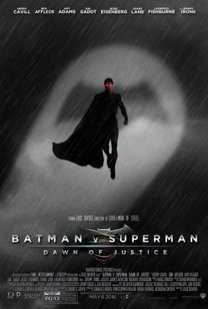 Batman v Superman Dawn of Justice fan poster 1