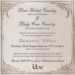 downton abbey 5x01 invito