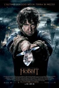 Lo hobbit la battaglia delle cinque armate-poster