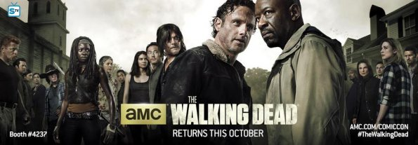 The Walking Dead 6 Comic-Con Key Art_595_Mini Logo TV white - Gallery
