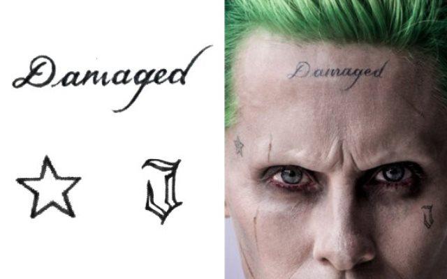 Joker Damaged Tattoo Png: Joker: I Tatuaggi Sul Suo Corpo Nel Dettaglio