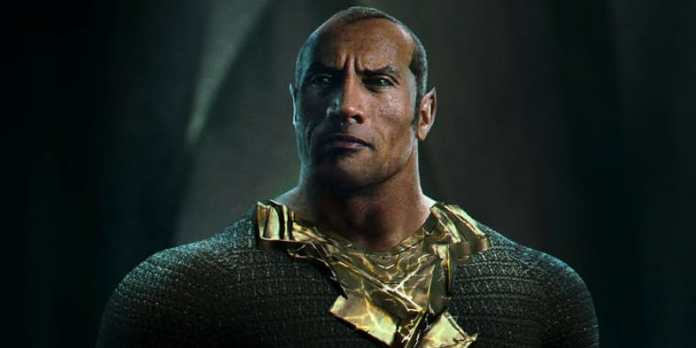Shazam Dwayne Johnson Black Adam