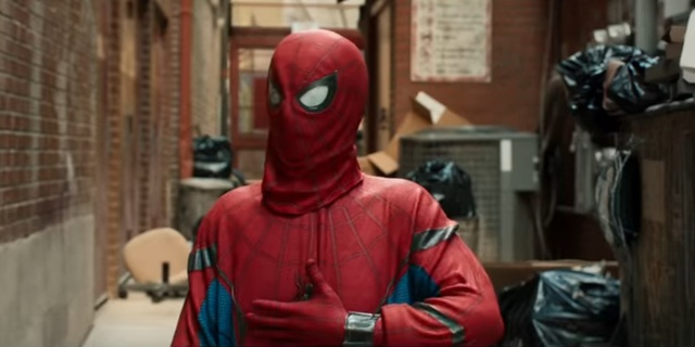 Spider-Man Homecoming costume