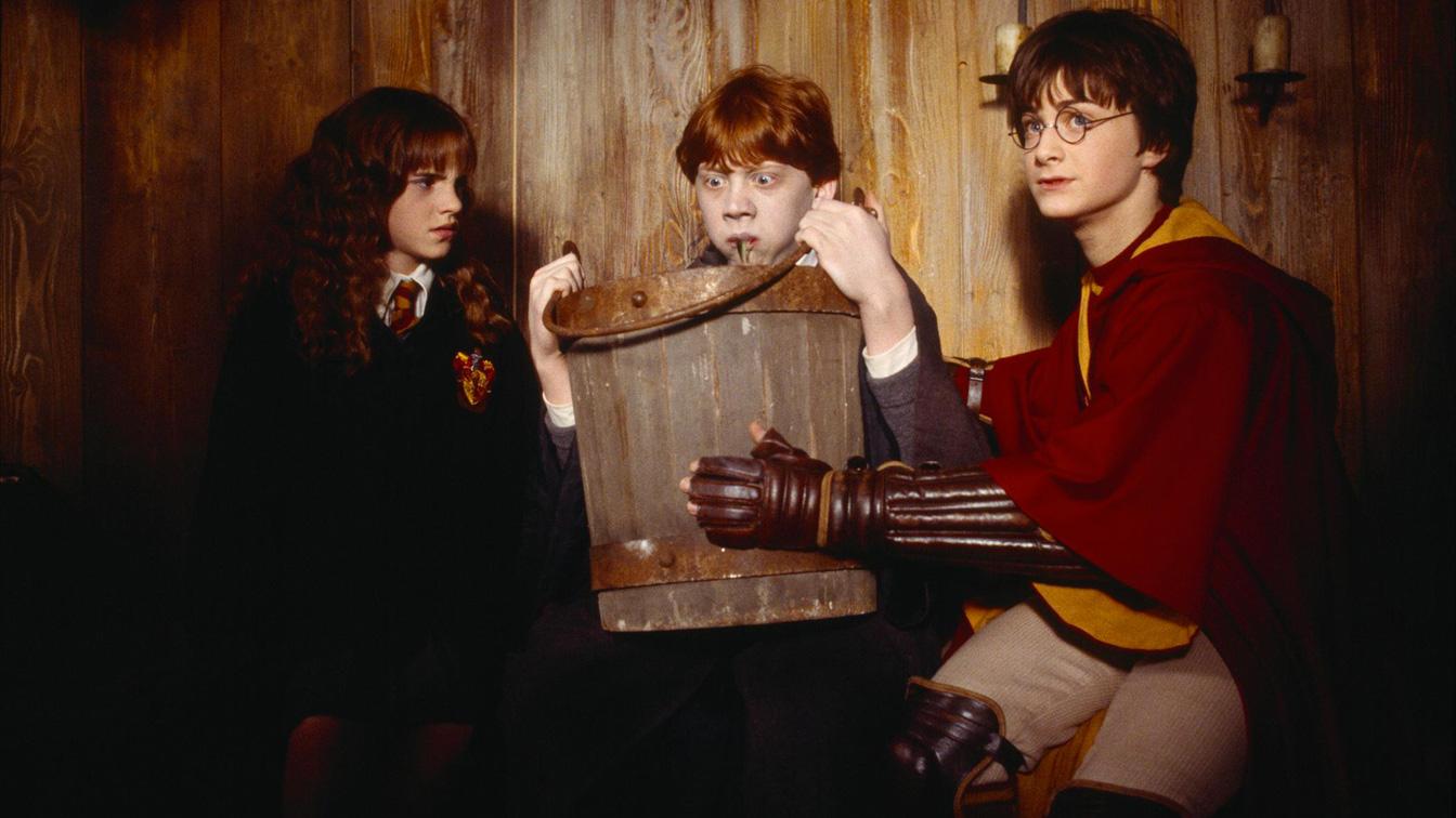 Harry Potter Camera Dei Segreti : Alan rickman e tom felton in una scena di harry potter e la