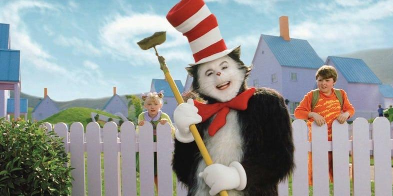 Il Gatto E Il Cappello Matto Warner Bros Al Lavoro Sul Nuovo Film