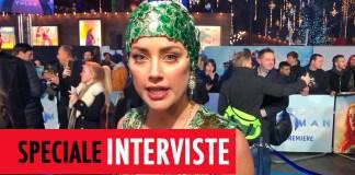 Aquaman interviste