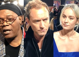 Captain Marvel interviste