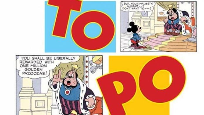 topolino Cartoons on the Bay
