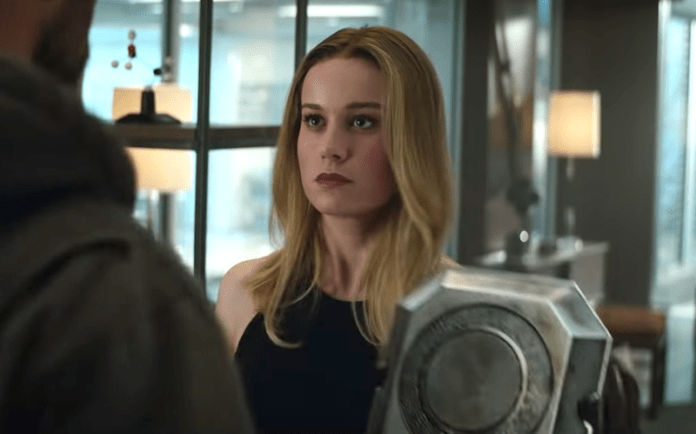 avengers: endgame Captain Marvel