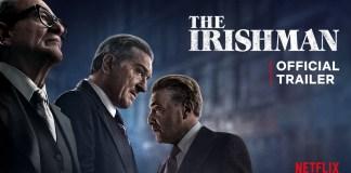 The Irishman trailer ufficiale netflix