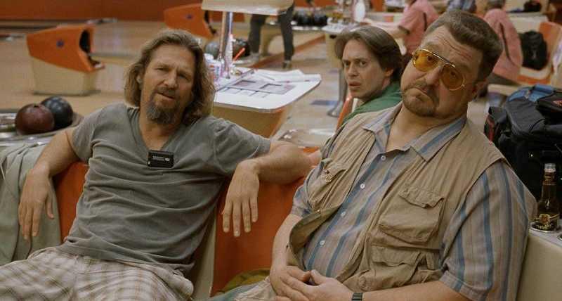 Jeff Bridges, John Goodman e Steve Buscemi ne 'Il Grande Lebowsk dei Coen