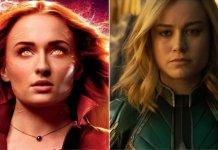 Fenice Nera vs Captain Marvel
