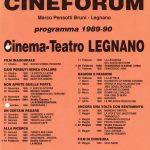 Volantino Stagione 1989-1990