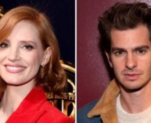 Cinegiornale.net jessica-chastain-e-andrew-garfield-nel-biopic-the-eyes-of-tammy-faye-220x180 Jessica Chastain e Andrew Garfield nel biopic The Eyes of Tammy Faye News