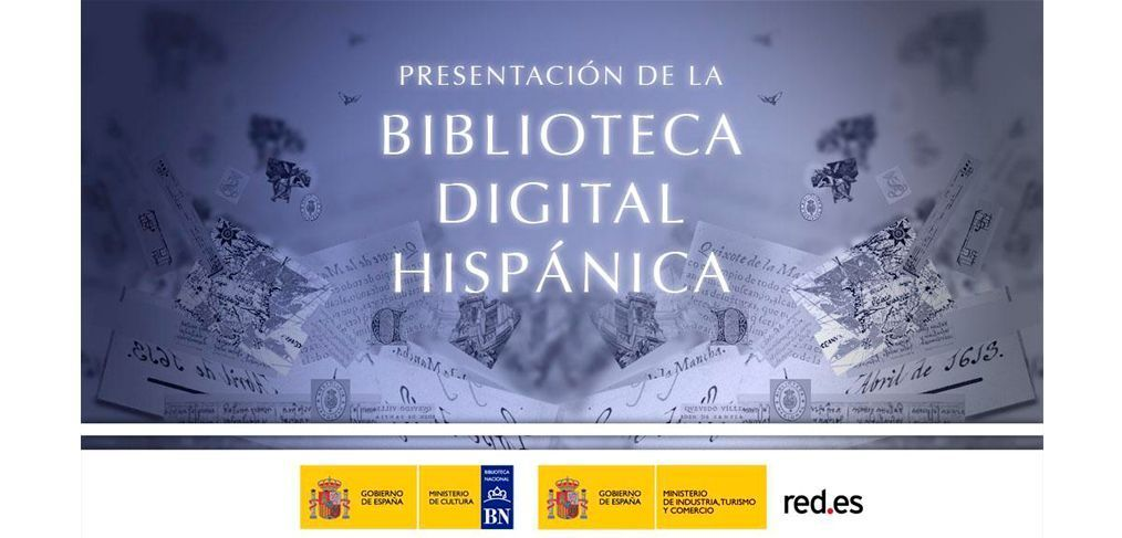 Resultado de imagen para biblioteca digital hispanica