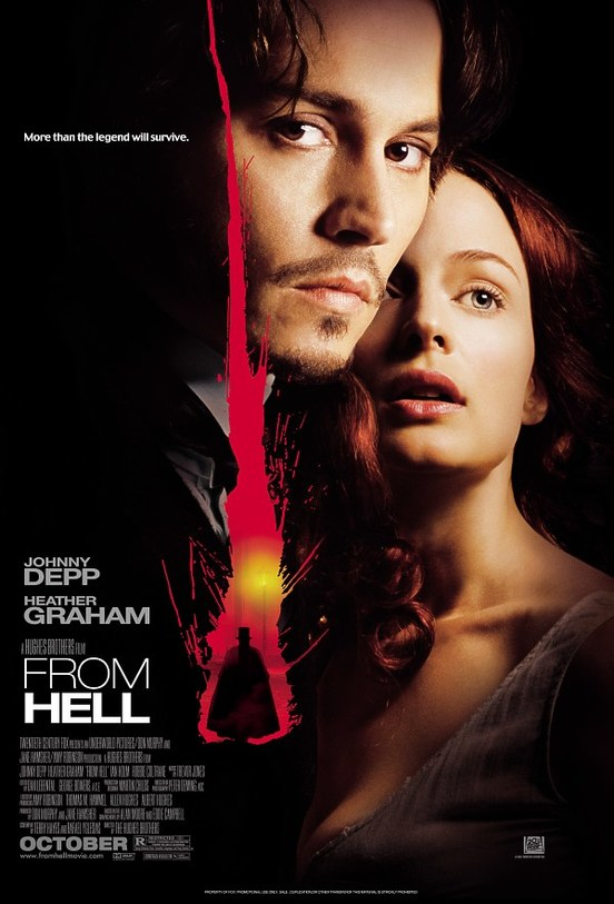 From Hell Movie Based on Jack The Ripper