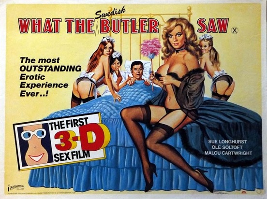 What the Swedish Butler Saw Movie Poster