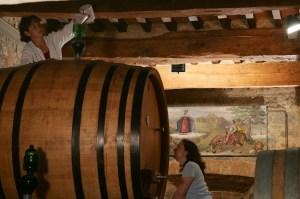 Botti nel Casato Prime Donne in Montalcino