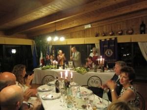 Passaggio della Campana Lions Club Montalcino La Fortezza