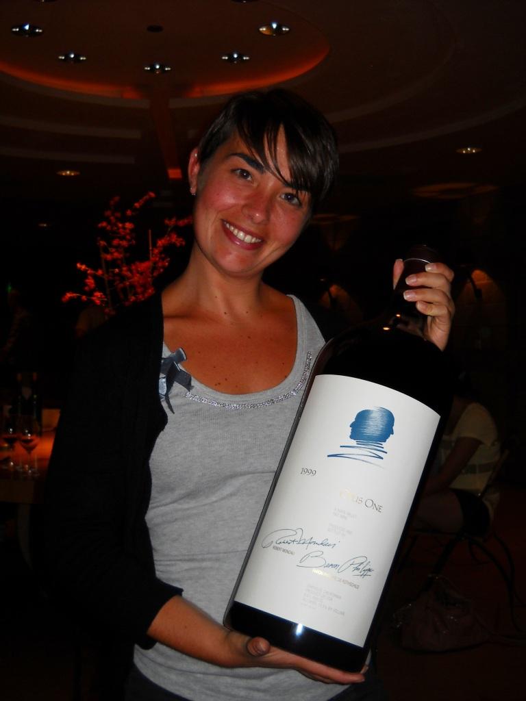Violante nelle vigne di Opus One
